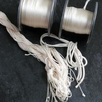 生成りの網袋用糸 - よしのクラフトルーム