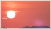 皐月晦日の日没 - おだやかに たのしく Que Sera Sera