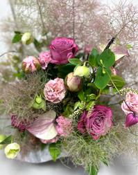 2021年5月のレッスン/スモークツリーを使って - お花は幸せの贈りもの~Sweet Lees