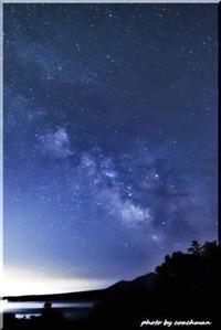 6月の天の川(支笏湖) - 北海道photo一撮り旅