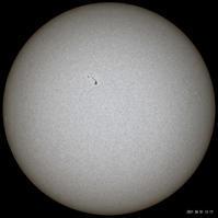 6月1日の太陽 - お手軽天体写真