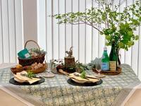 6月のテーブルコーディネートレッスン「ピクニックスタイルのテーブルコーディネート 」 - 秋田のテーブル、秋田のごはん