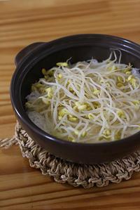 豆もやしの炊き込みご飯 - pig meets monkey