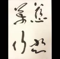 慈悲萬行の書から抽象の狭間を考える - 桃蹊Calligrapher ver.2