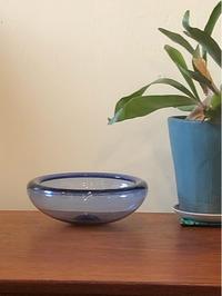 Holmegaard glass bowl - hails blog
