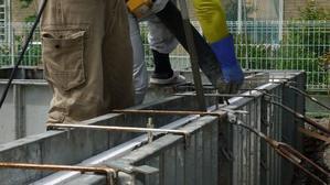 名取市美田園TTA様邸基礎立上りコンクリート打設 -