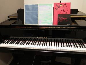 グランドで練習しました。グランドビアノが欲しい病発症中。 - きんどーのピアノルーム?ピアノ&音楽の部屋?