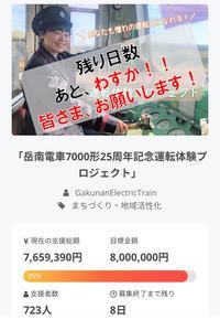 岳南電車 がついにクラウドファンディングに挑戦‼️ - かぐやの! TMO吉原 勝手に応援団!!。。。