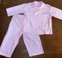 布の断捨離でパジャマ縫いあがり - あじさい通信・ブログ版