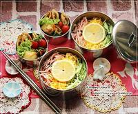 冷やし中華弁当とつぶやき♪ - ☆Happy time☆