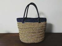 エコアンダリヤのバッグ&帽子♪お客様作品2021.5月 - 空色テーブル  編み物レッスン