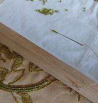 室蘭うずらのプリンでビーズ刺繍時間 - jujuの日々