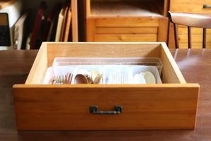 台所のお片づけ:食べる道具はカトラリーも含みます - キラキラのある日々
