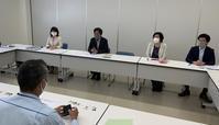 新名神高速道路の工事・・・ネクスト西日本と懇談 - 未来へシュート! みわ智之 日本共産党