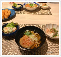 うどんで夜ご飯。 - Mikari's Blog