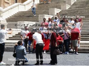 イタリアやった~「勝ったね!」@開催地ローマEURO2020その2【イタリア✖トルコ】6/11(金)1戦目 ~ EURO2020 ~ - 『ROMA』ローマ在住 ベンチヴェンガKasumiROMAの「ふぉとぶろぐ♪ 」
