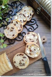 【ワンオペのパン作り時間割】レーズンとオレンジとクリチのラウンドパンとプールバッグ - 素敵な日々ログ+ la vie quotidienne +