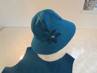 帽子とコサージュ、カットソーの3点セット。 - ピンクローズのキラキラ手芸DAYS