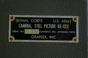 U.S.ARMY SPEED GRAPHIC -