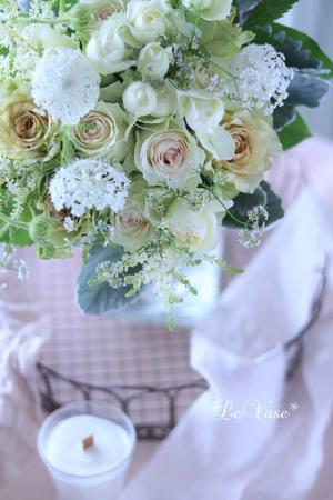 6月Basicクラス 「クラッチブーケ」 - Le vase*  diary 横浜元町の花教室
