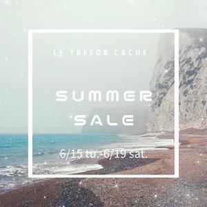 summer sale - LE TRESOR CACHE