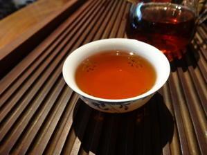 熟茶で始まる梅雨の週。 -