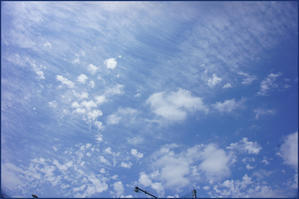たまには空をみて見ましょう - ラテンなおばさん