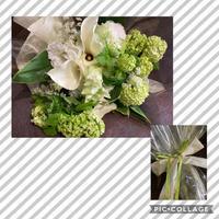 定年退職の方への花束 - Rico 花の教室
