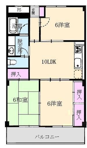 高知 山陽ハイツ空き部屋情報 306号室  NEW!! - 高知市初月(みかづき):山陽ハイツのブログ