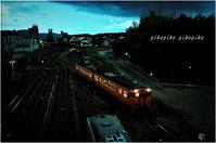 夕暮れの駅は晴れのち曇りのち雨~~~ - 今が一番