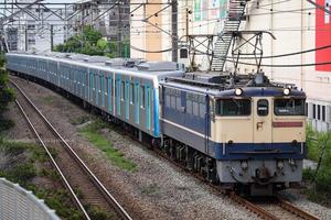 西武40000系甲種 2021/6/13 Sun. 東海道貨物線 - EF65 2139+40000系40155F - - PHOTOLOG by Hiroshi.N