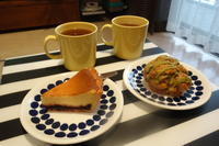 DEAN&DELUCAのピスタチオスコーンとチーズケーキ - *のんびりLife*