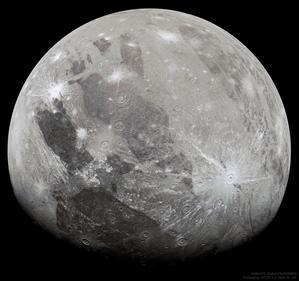 木星探査機ジュノーが捉えた太陽系最大の衛星ガニメデの姿 - 秘密の世界        [The Secret World]