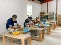 本日の陶芸教室 Vol.1161 川俣町女性講座 - 陶工房スタジオ ル・ポット
