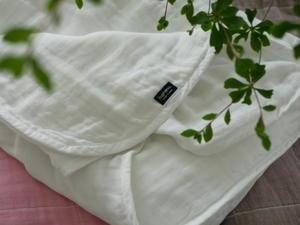 【寝室】365日毎日使うモノ!!育てるガーゼケットが…最高の心地よさ? - ちいさなおうちのちいさなしあわせ♪