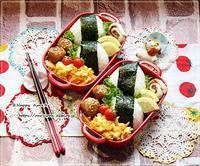 ツナマヨおにぎり弁当とつぶやき♪ - ☆Happy time☆