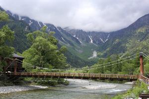 梅雨の晴れ間の上高地 - 週末は山にいます