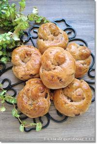 ノアレザンシングルノット☆いつも美味しいパンを感謝します!と王子の便秘と姫の軟便 - 素敵な日々ログ+ la vie quotidienne +