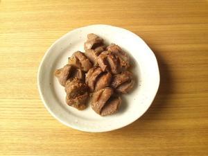砂肝の七味風味炒め - Minha Praia