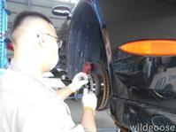 レクサス SC430納車整備中(∩^o^)⊃ - ★豊田市の車屋さん★ワイルドグース日記