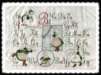 Beccasine ABC Samplers - KT's Handcrat Note