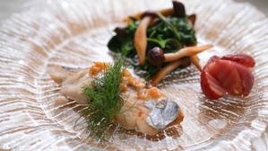 さわらのポワレ 塩レモンバターソース - 登志子のキッチン