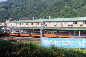 富山地方鉄道「宇奈月温泉駅」と黒部峡谷鉄道「宇奈月駅」♪ - すえドンのフォト日記