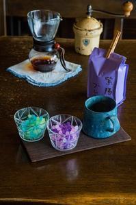 紫陽花のイメージでコーヒータイム - 十人十色