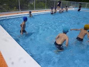 2シーズンぶりの水泳授業 - 鮎貝小公式ブログ