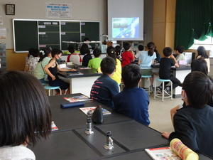 教室探訪(6月18日?) - あすたくん日記