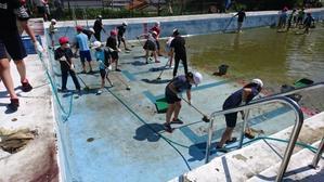 そして、今日はプール掃除! - 大好き 西条小学校