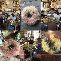 昨日の プライベート花教室から〜♬ -  Flower and cafe 花空間 ivory (アイボリー)