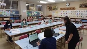 PTA広報部会 編集会議 - 三笠っ子通信