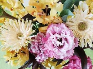 ご供花から、お元気ですか?のお花へ -